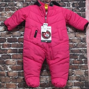 Canada weather gear baby girl jacket 6-9 M